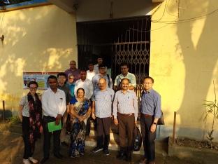 HC team at primary health center - India