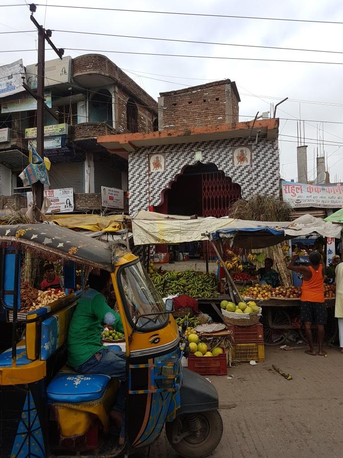 Roadside view - India