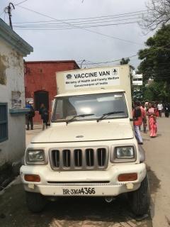 Vaccine van - India